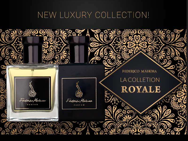 New exclusive perfume collection – LA COLLECTION ROYALE!