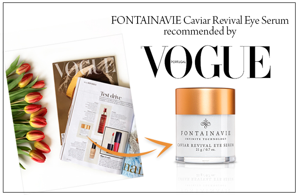 Fontainavie Luxury Line in Vogue Portugal!