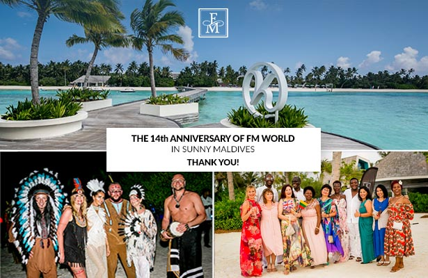 The 14th Anniversary of FM WORLD in Maldives - Thank you!
