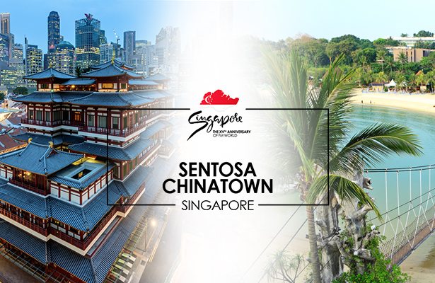 Getting ready for 15th FM WORLD Anniversary – Sentosa Island and Chinatown