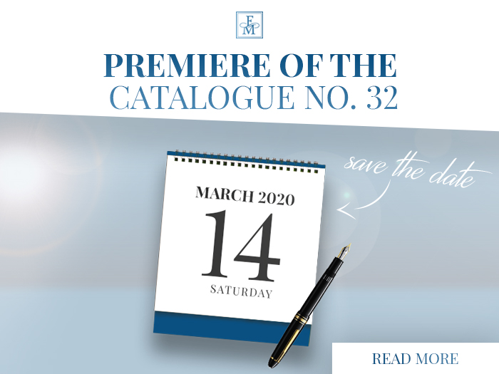 PREMIERE OF THE CATALOGUE NO. 32