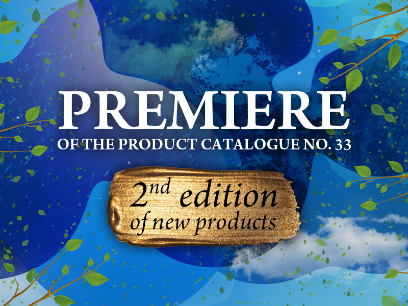 Second edition of the Product Catalogue no. 33