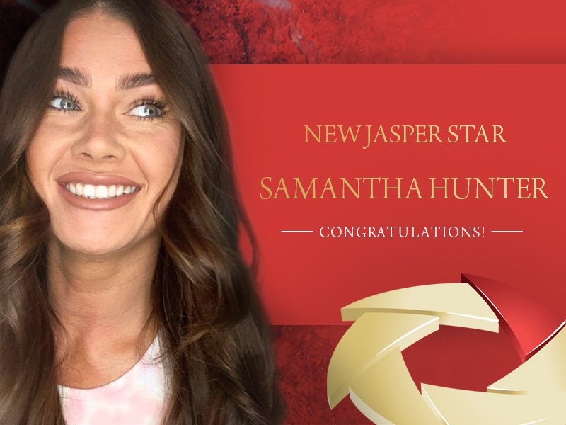 New Jasper Star – Samantha Hunter