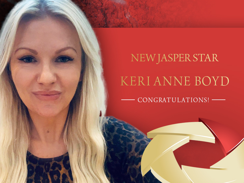 New Jasper Star – Keri Anne Boyd